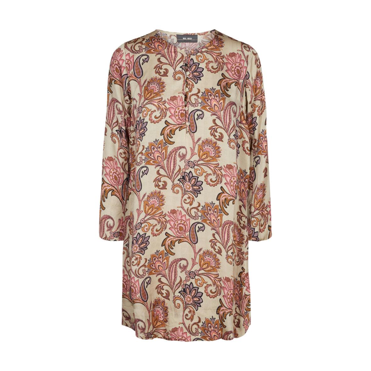 13f46b2f MOS MOS - Brisa Weave Kjole Vintage Rose - Jydepotten.dk - Fri Fragt ...