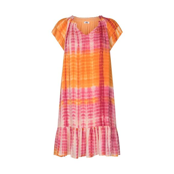 APOKE - Sunrise Crop Animal Dress - Nude Rose