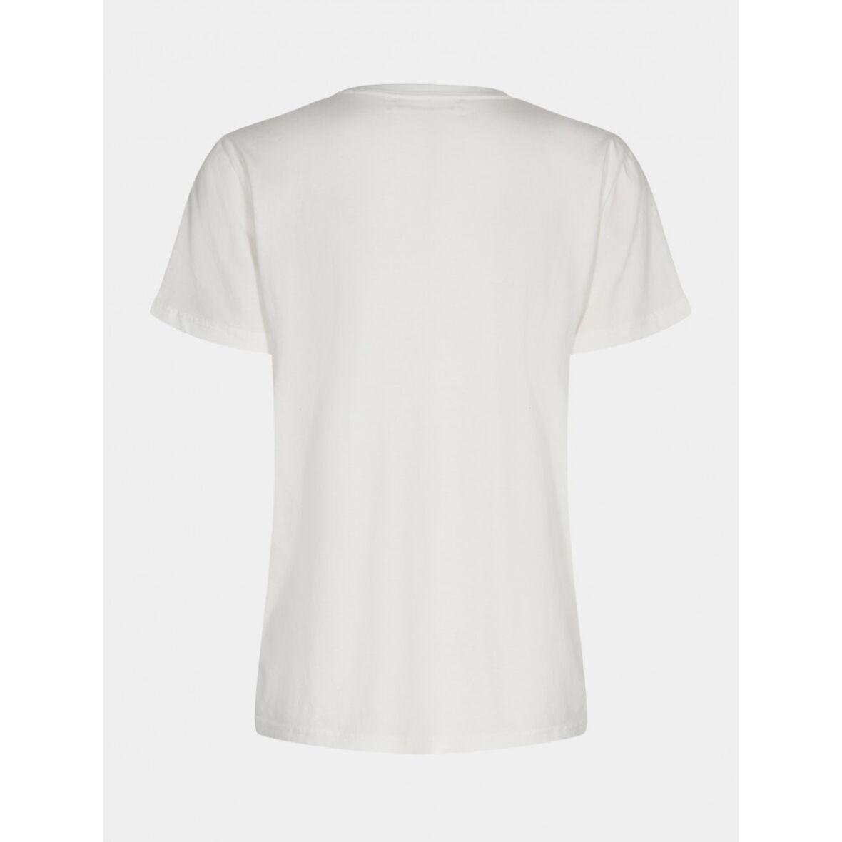 SOFIE SCHNOOR - Cady T-Shirt Off White s211271