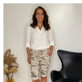 Love Sophy Camo Shorts M/ Lommer