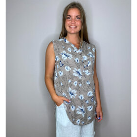 Love Sophy Blomstret Bluse